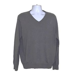 J Crew Men's Sz L Cotton with Cashmere Sweater